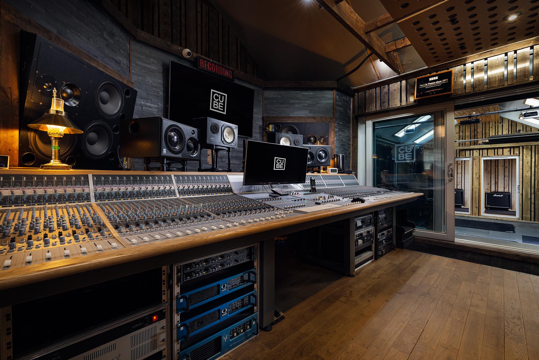 Cube Recording Studio Cornwall