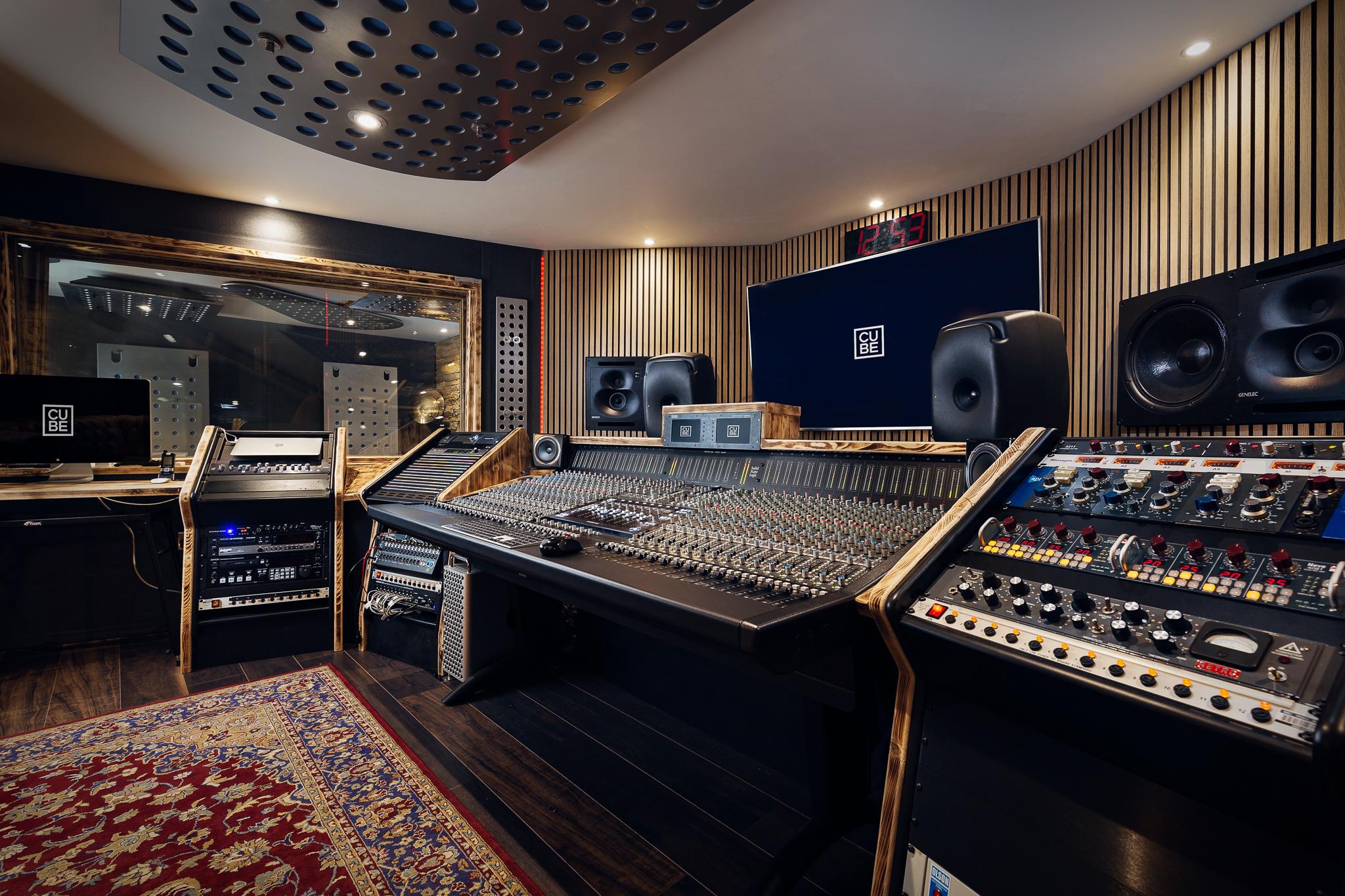 Cube Recording Truro - Studio B