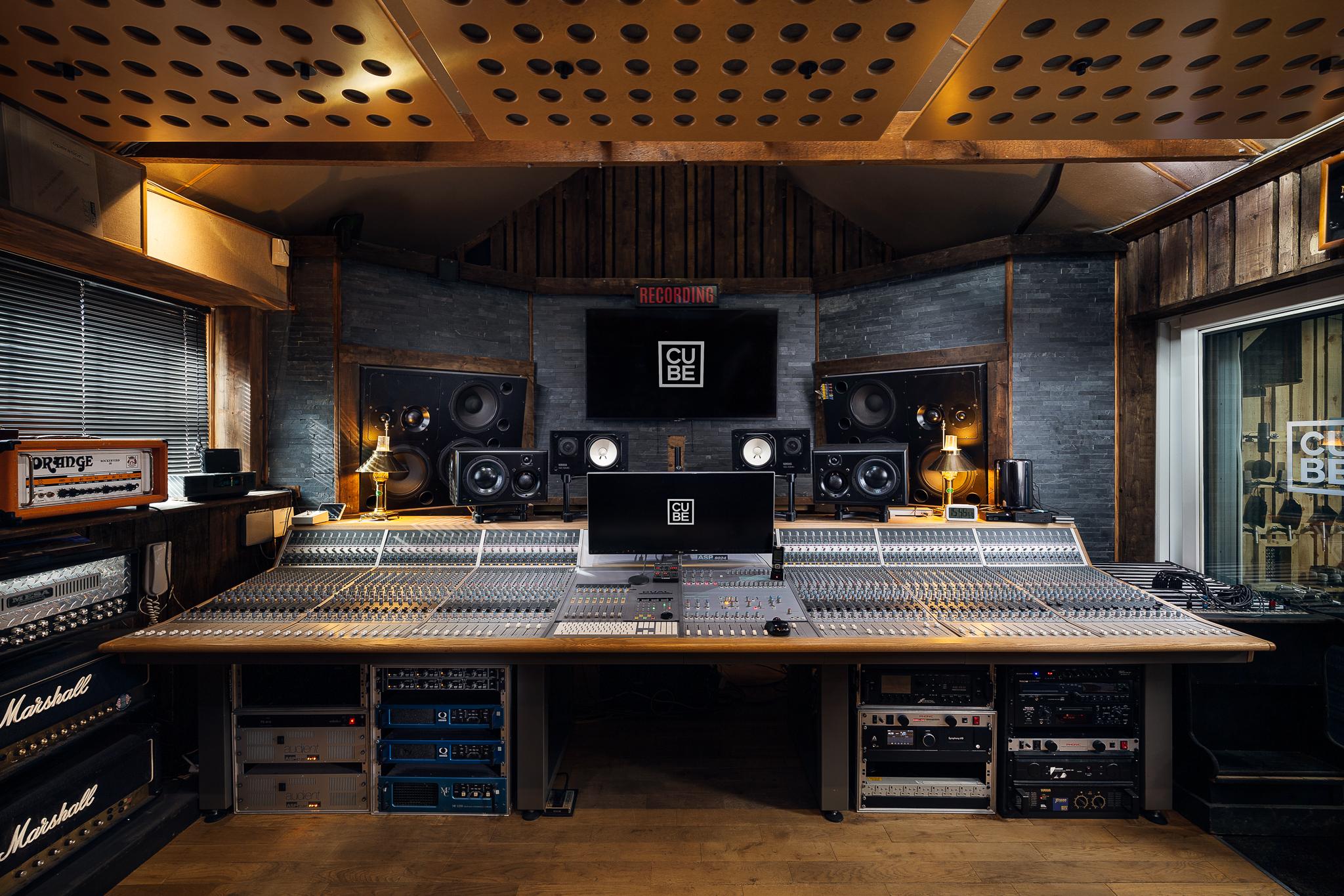 Cube Recording Truro - Studio A